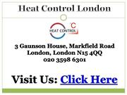 Gas Engineer London - Heat Control London 020 3598 6301