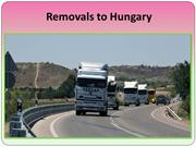 Affordable Moving & Storage Solutions to Hungary