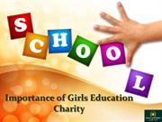 Importance of Girls Education Charity