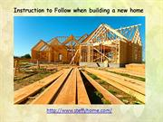 Steffy Homes Best Service Provider In Home Build