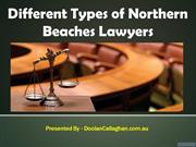 Different Types of Northern Beaches Lawyers