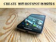 Create  WiFi Hotspot in Moto X