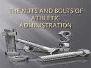 The Nuts and Bolts of Athletic Administration revised