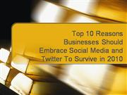 Top 10 Reasons For Businesses To Grow