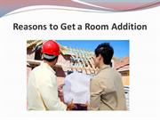 Reasons to Get a Room Addition