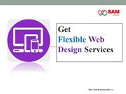 Flexible web design services from outsource web development company