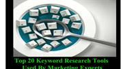 Top 20 Keyword Research Tools used by Marketing Experts