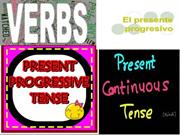 present progressive tense in spanish