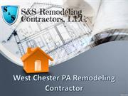 West Chester PA Remodeling Contractor