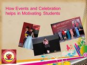 How Events and Celebration help students with Motivation