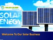 Solar Products from Solar Galore