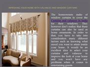 India's Best Valances And Window Curtains