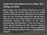 Forget the Long Queue at Tyre Shop, Tyre Change at Home