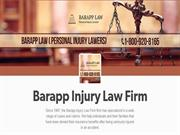 Injury Law Firm - Barapp Injury Law Firm (800)-920-8165