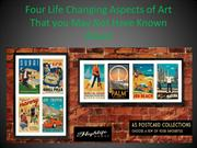 Four life changing aspects of art that you may not have known about