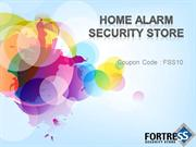 Home Alarm Security System - Fortress Security Store
