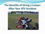The Benefits of Hiring a Lawyer After Your ATV Accident