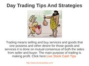 Day Trading Tips And Strategies PPT