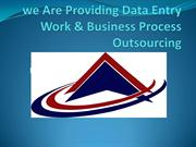 we Are Providing Data Entry Work & Business