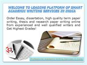 Professional Academic Writing Services in India
