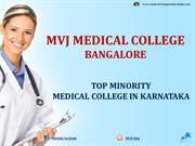 MVJ Medical College Bangalore Admission|Fees|Seats|Exams