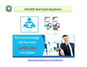 1V0-601 Test Questions 1V0-601 Exam PDF