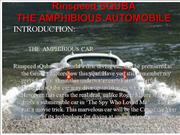 Amphibious Automobile
