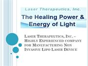 Experienced company for Manufacturing Non Invasive Lipo Laser Device
