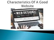 Want To Know Characteristics Of a Good Website?