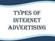 Types of Internet Advertising