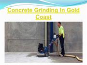 Concrete Grinding In Gold Coast