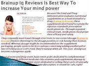 Brainup Iq Reviews Is Best Supplement For Brain.