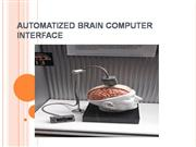 Automized Brain Computer Interface