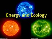 3.2 DCS Energy in Ecosystems EL