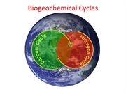 3.3 Biogeochemical Cycle 2016