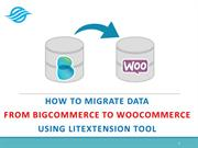 How to switch data from BigCommerce to WooCommerce with Lit