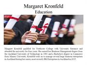 Margaret Kronfeld And His Education