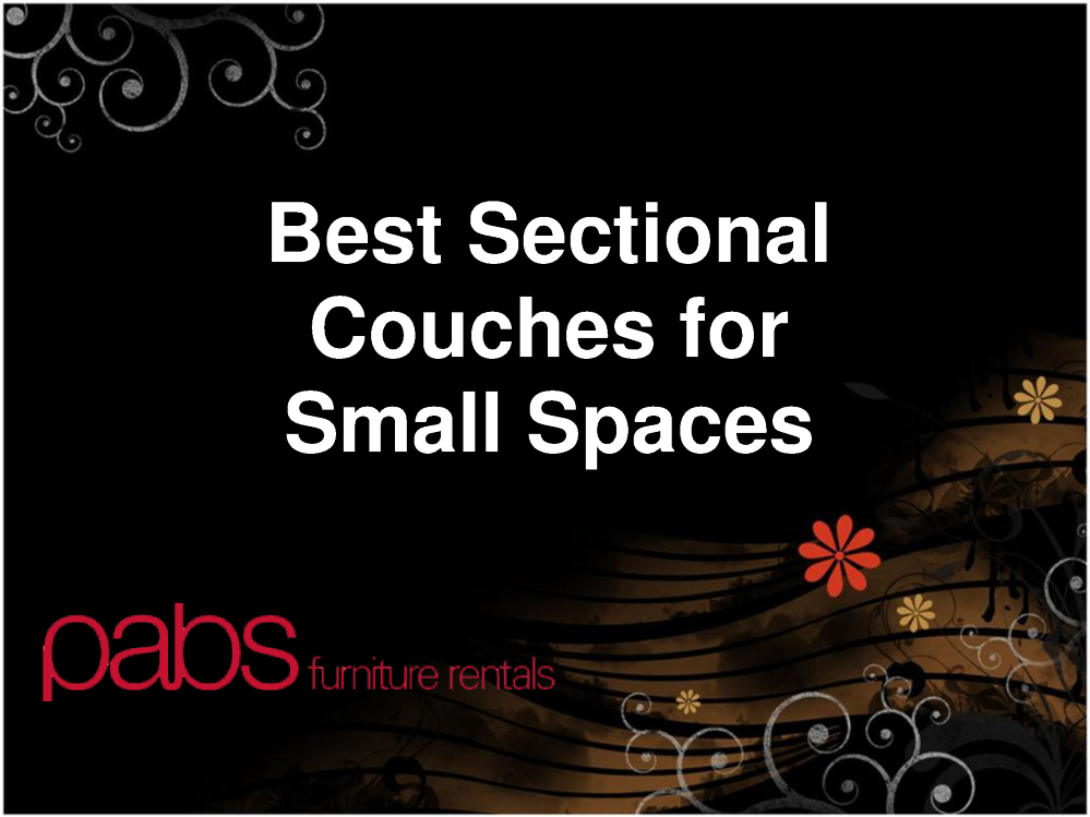 Best sectional couches for small spaces authorstream - Best sectionals for small spaces ...