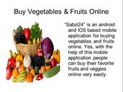 Buy Fresh Fruits And Vegetables Online