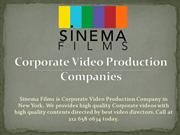 Corporate Video Production Companies