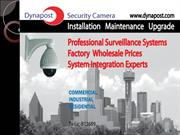 CCTV security cameras system installation in Dallas Texas