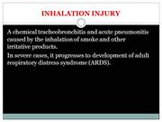 004 INHALATION INJURY