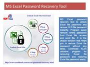 Excel Password Recovery Tool to Unlock, Break & Recover Excel Password