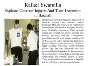 Rafael Escamilla explains 3 Common Injuries and Their Preventions in B