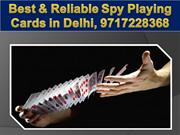 Spy playing cards