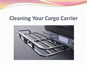 Cleaning Your Cargo Carrier