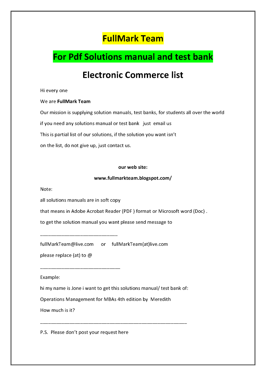 electronic commerce and media convergence pdf