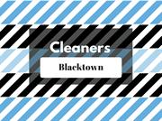 Cleaners in Blacktown