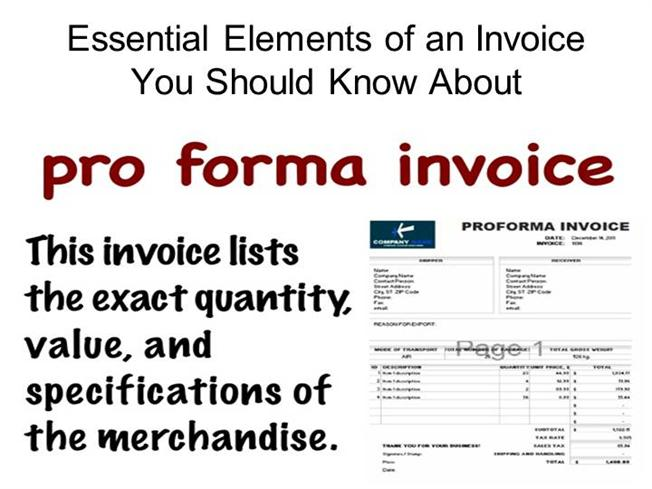 Essential Elements Of An Invoice You Should Know About |Authorstream