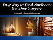 Easy Way to Find Northern Beaches Lawyers